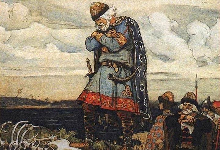 поход олега на киев