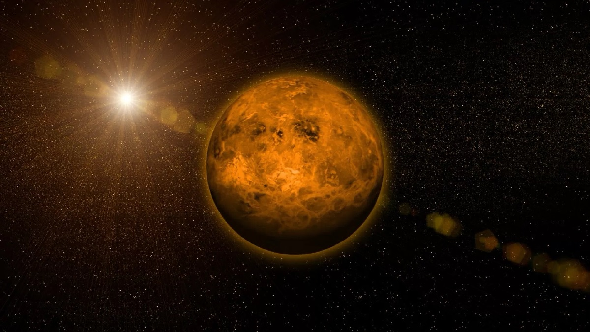 венера планета фото из космоса