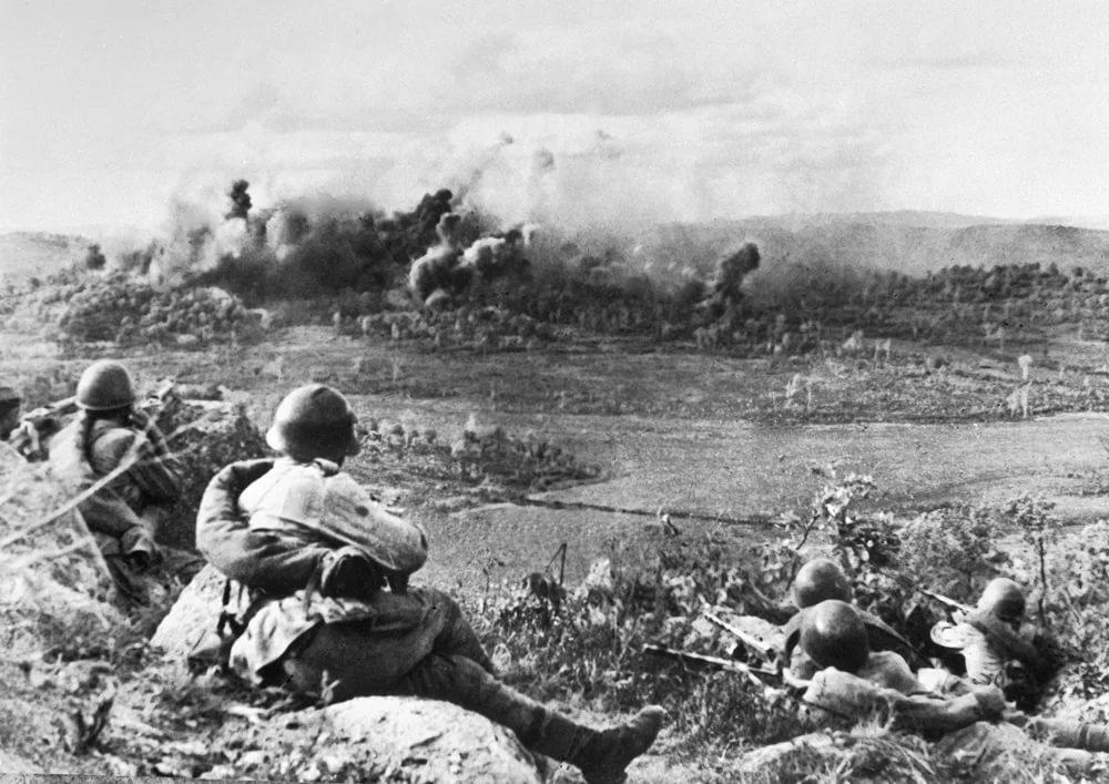 разгром квантунской армии в августе 1945 г