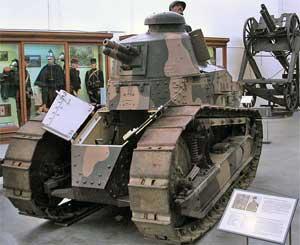 когда появился первый танк