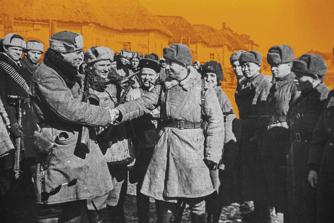 герои партизаны