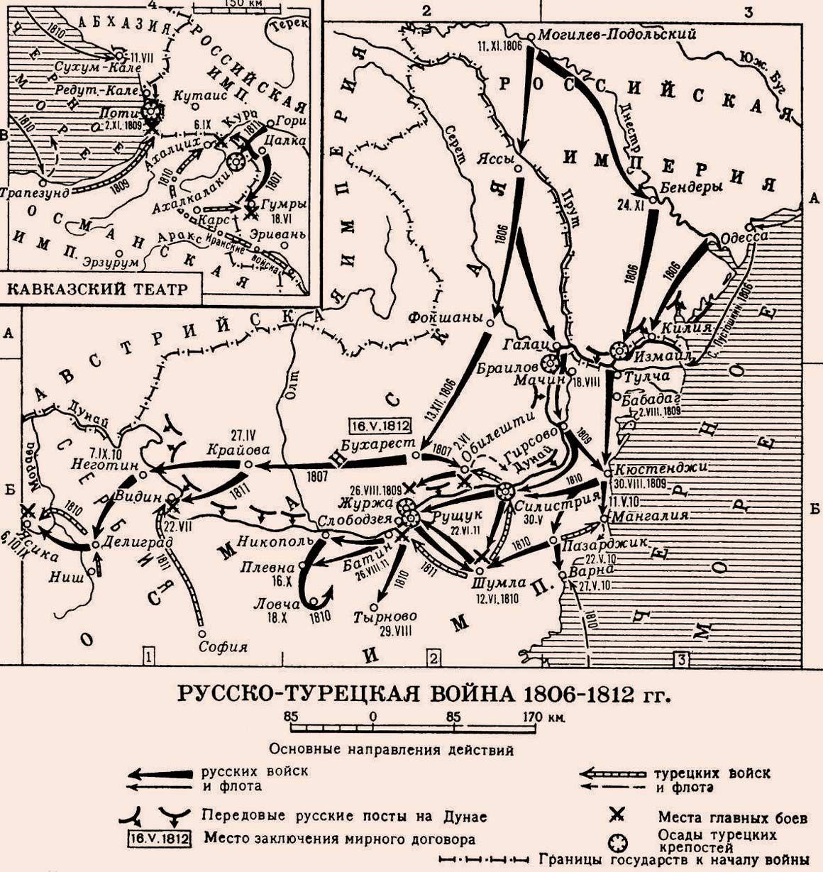 русско турецкие войны 19 века