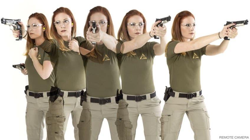 как правильно стрелять из пистолета пм