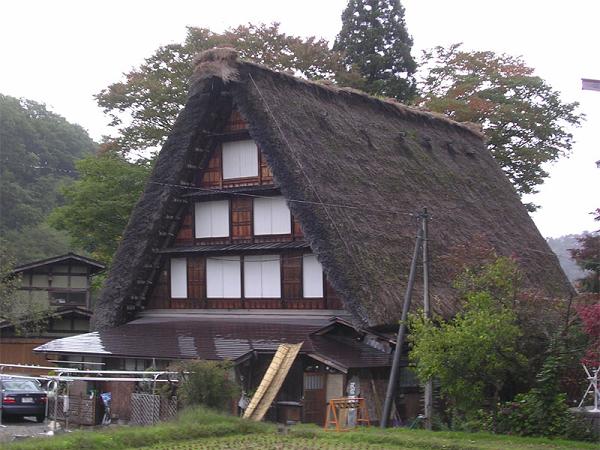 как называется японский дом