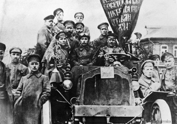 хроника событий февральской революции 1917