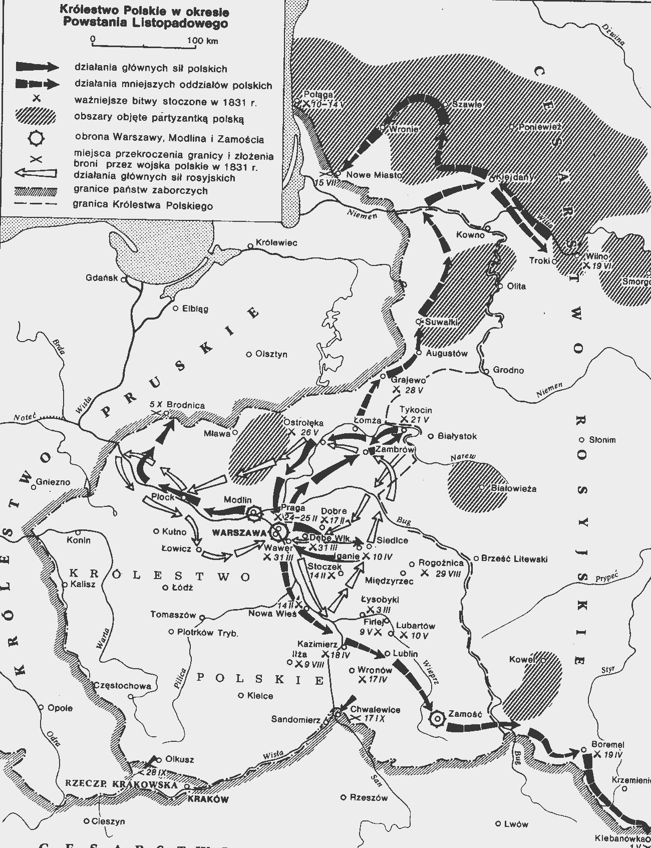 восстание в польше 1830 1831 гг
