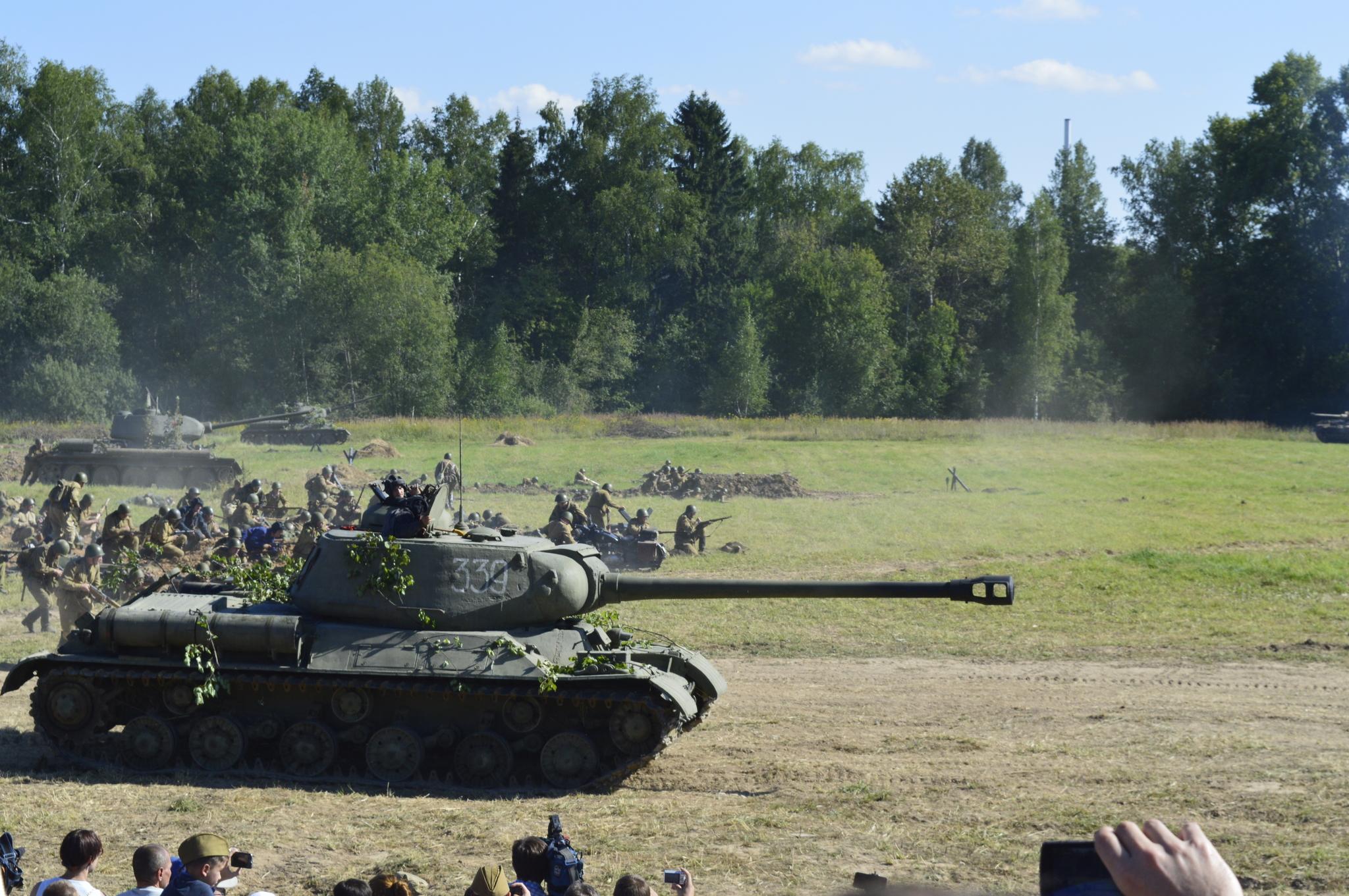 первое использование танков