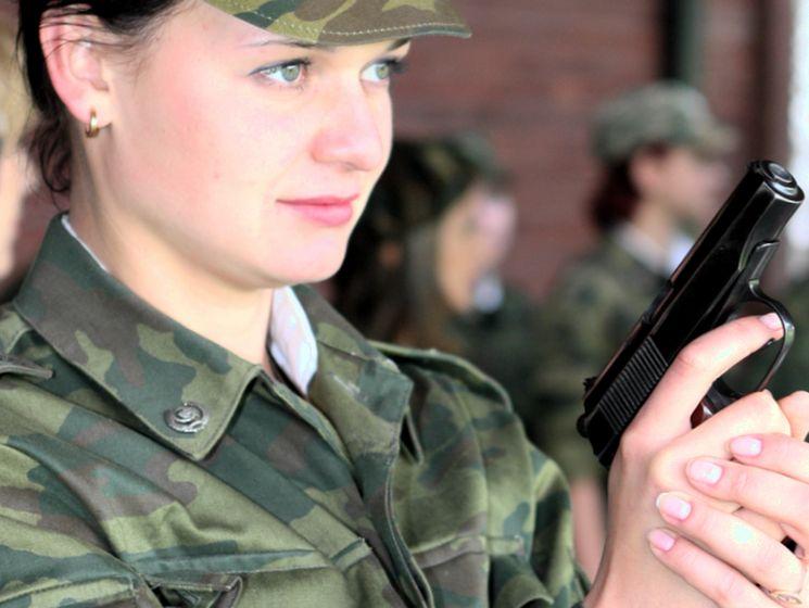 девушки военные в россии