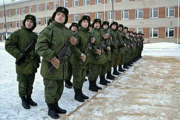 построение в армии