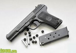 пистолет лидер