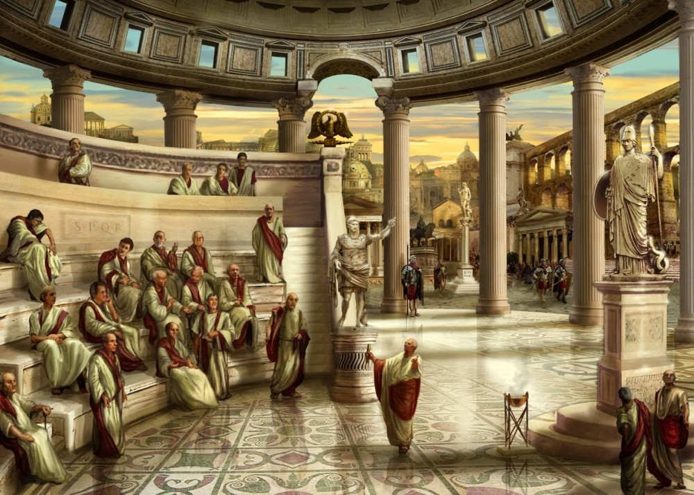 древний рим на карте мира
