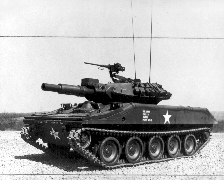 sheridan танк