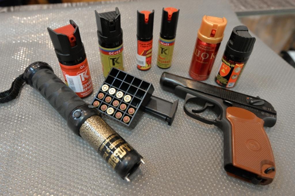 газовый пистолет для самообороны