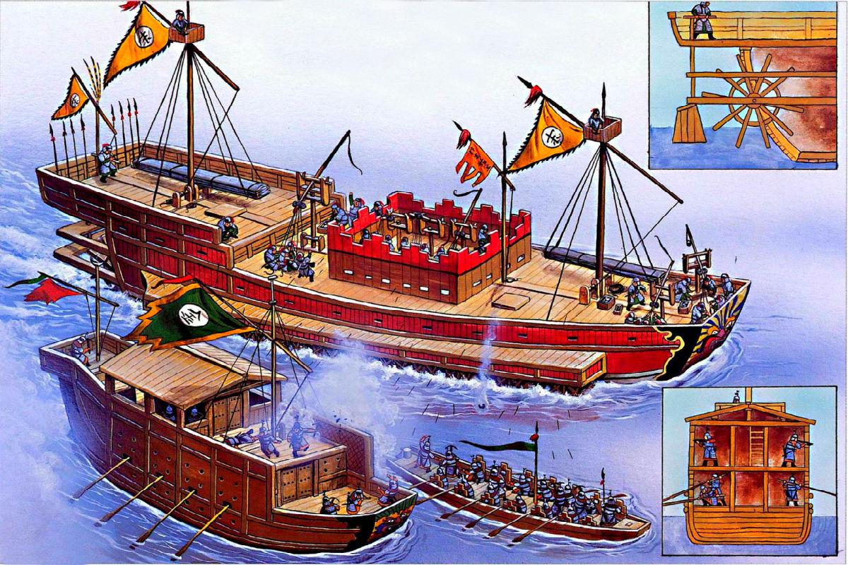 корабли древней греции