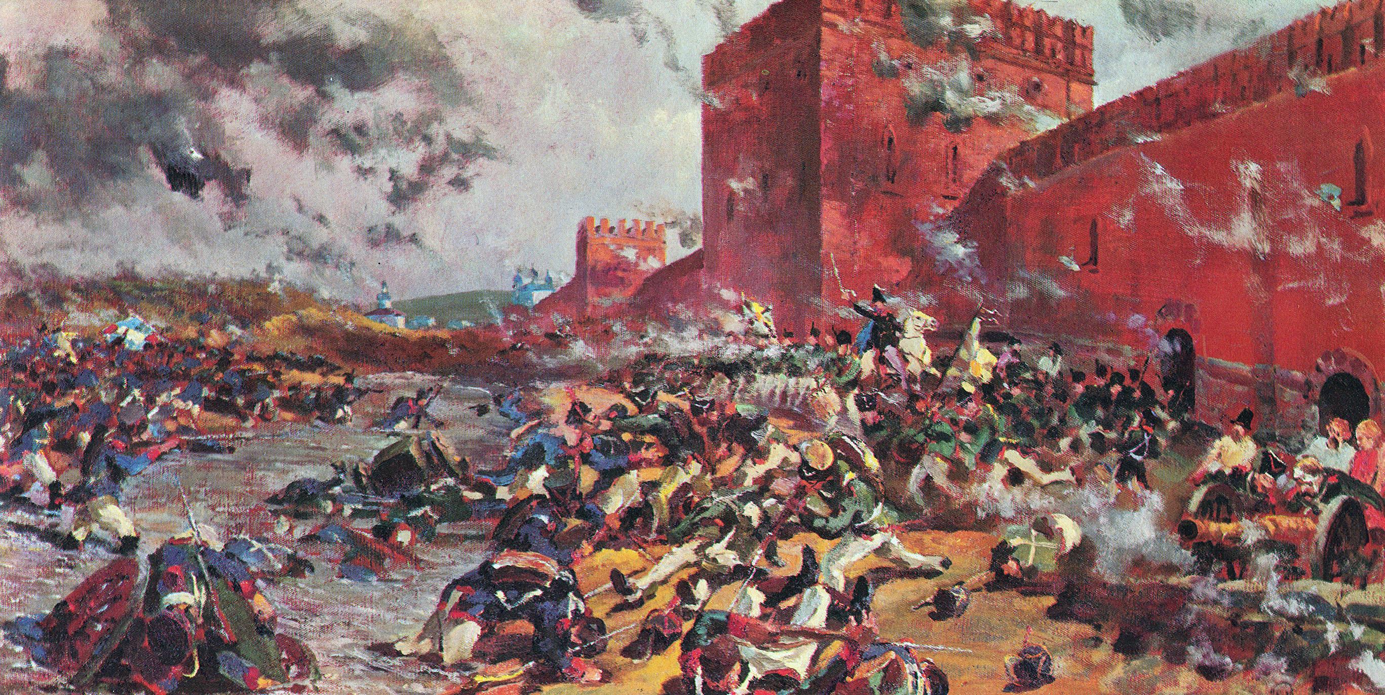 карта 1812 года наступление наполеона