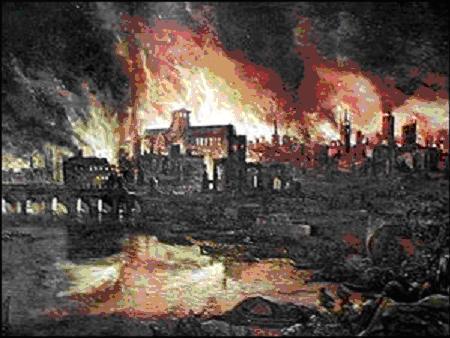 пожар в лондоне 1666