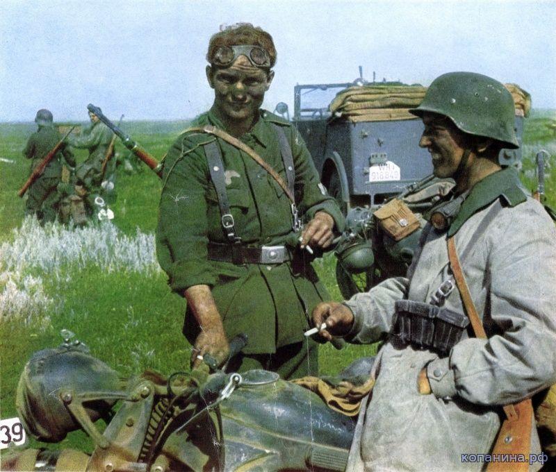 фото немецких солдат