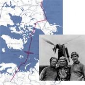 чкалов перелет через северный полюс