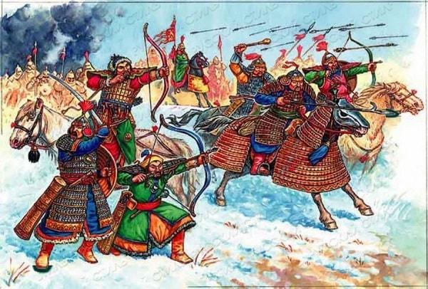 история монгольских завоеваний 13 века