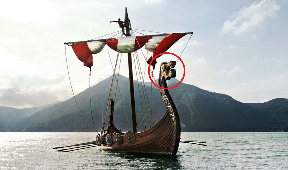 рисунок корабля викингов с подписями 6 класс
