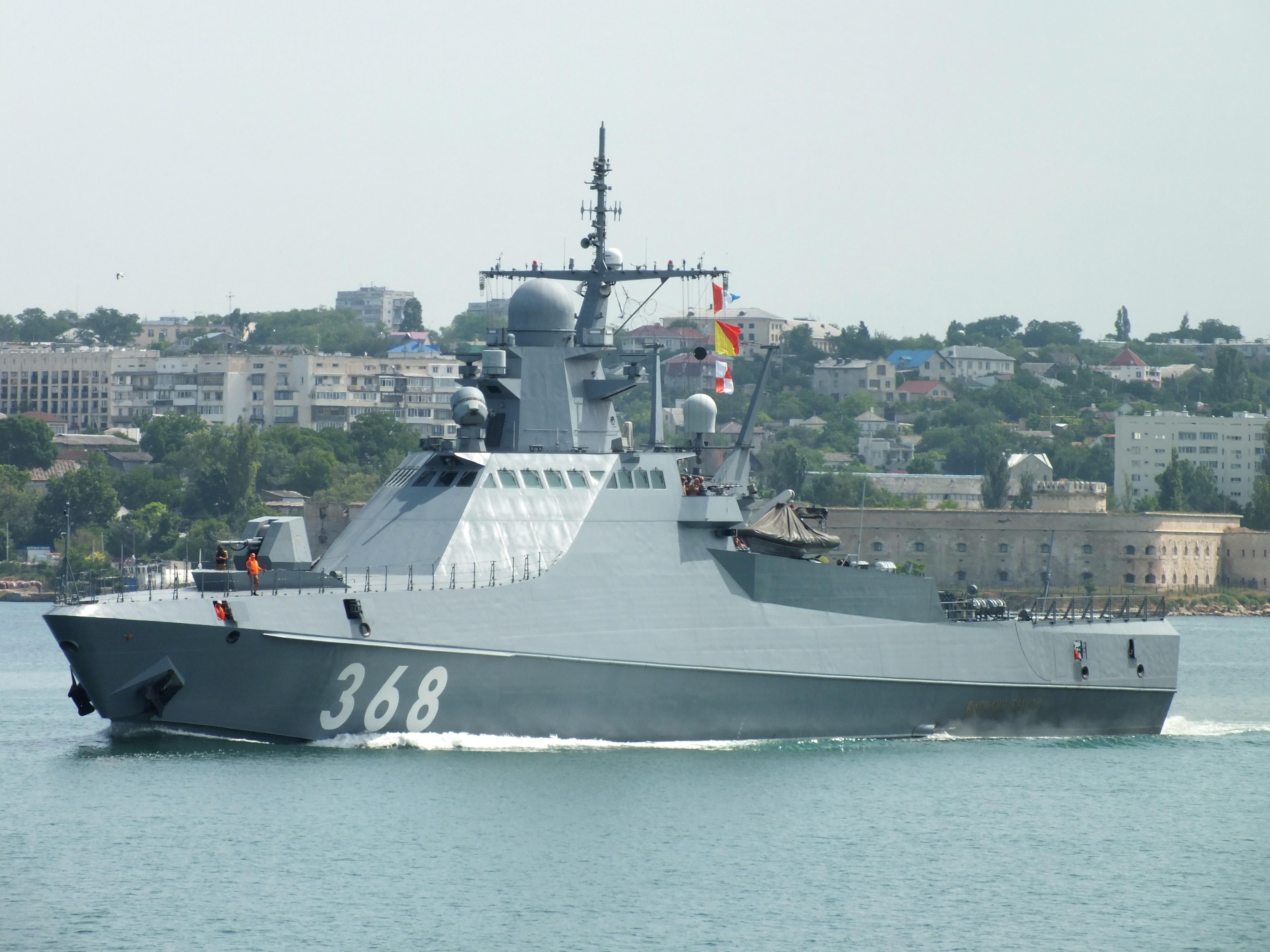 патрульный корабль проекта 22160