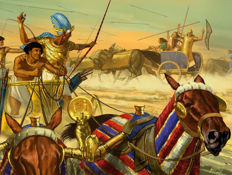 жизнь египетского воина