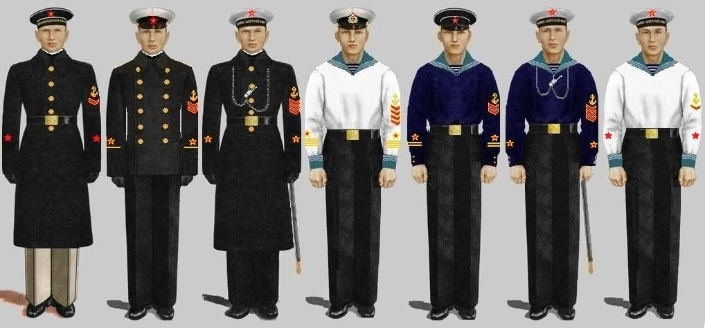 парадная форма офицеров