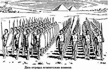 что такое войско в древнем египте