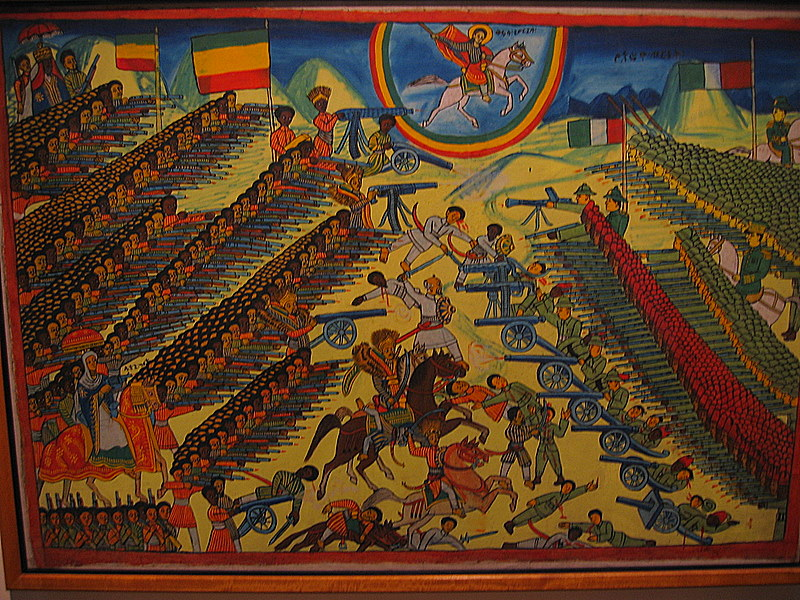 нападение италии на эфиопию