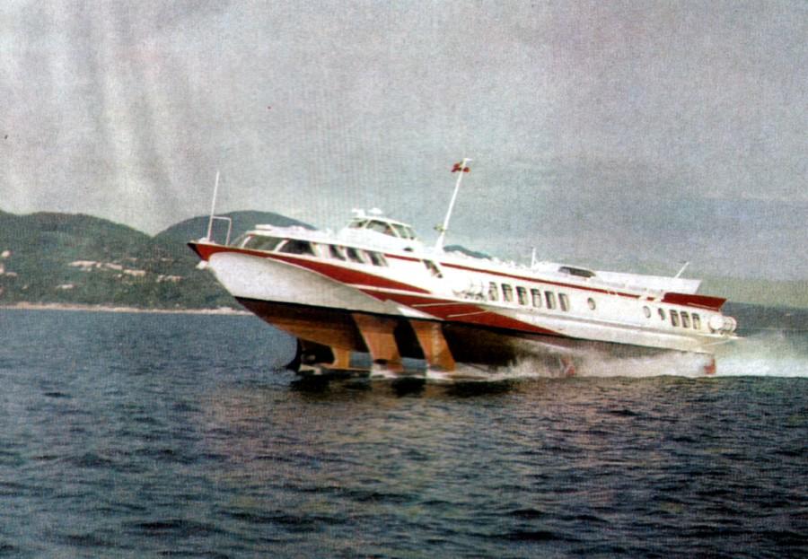 комета судно на подводных крыльях