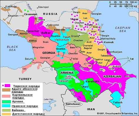 народы северного кавказа сообщение