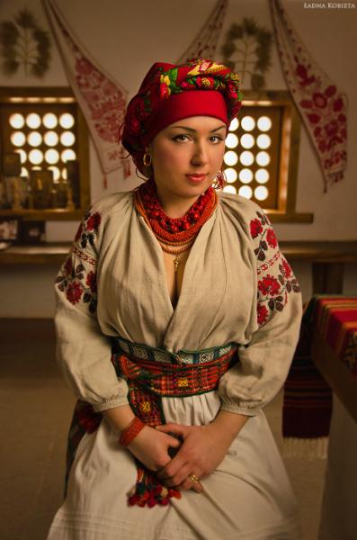 национальный костюм украины