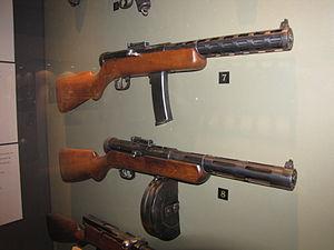 пистолет дегтярева