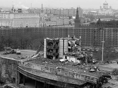 гостиница россия пожар 1977