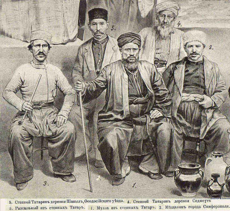 сколько татар в крыму