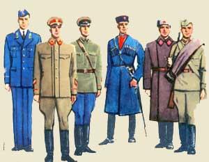 звания красной армии до 1943 года