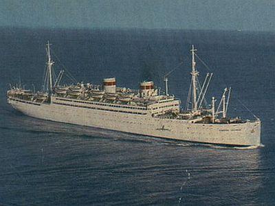 корабль нахимов затонул