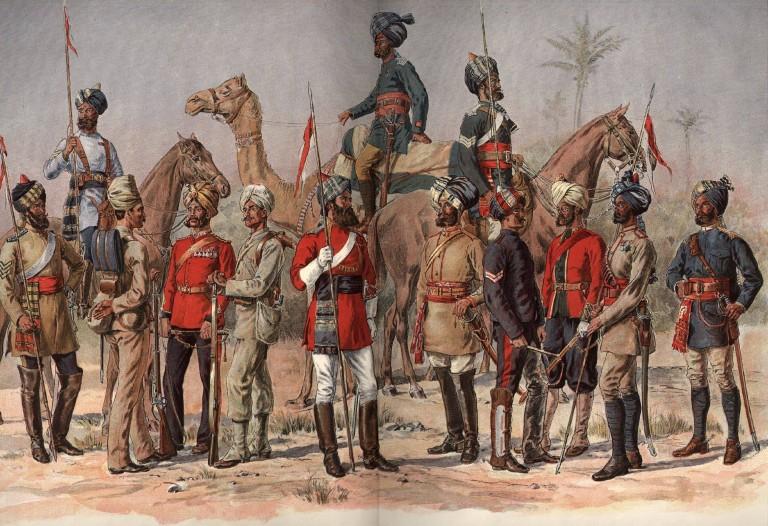 колониальная индия
