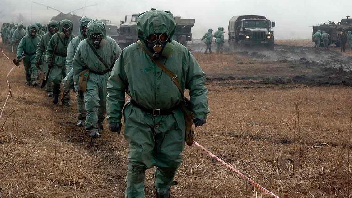 первое химическое оружие