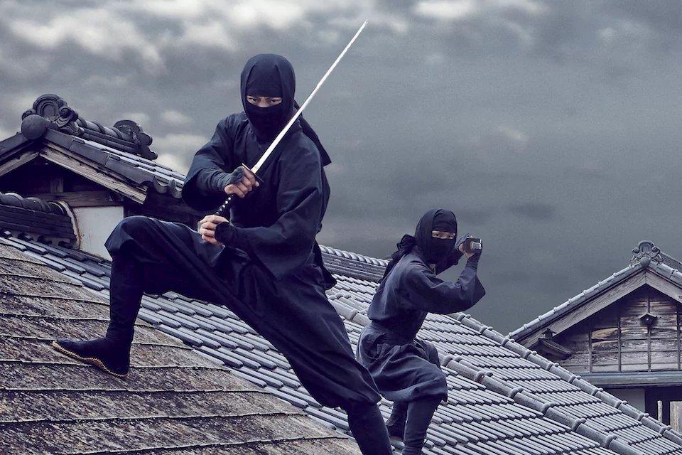 как называется меч ниндзя
