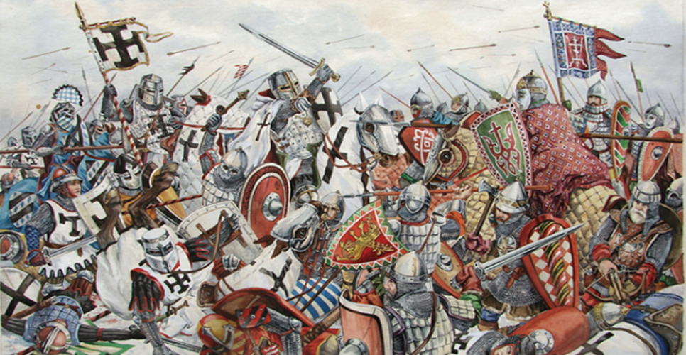 вторжение крестоносцев на русь кратко