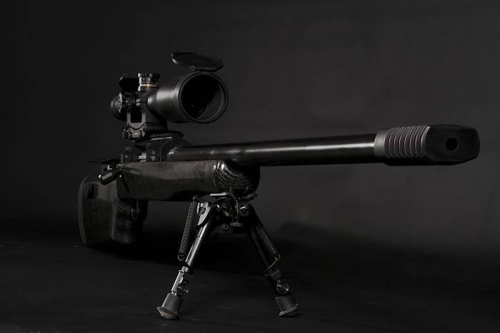 самая сильная снайперская винтовка в мире