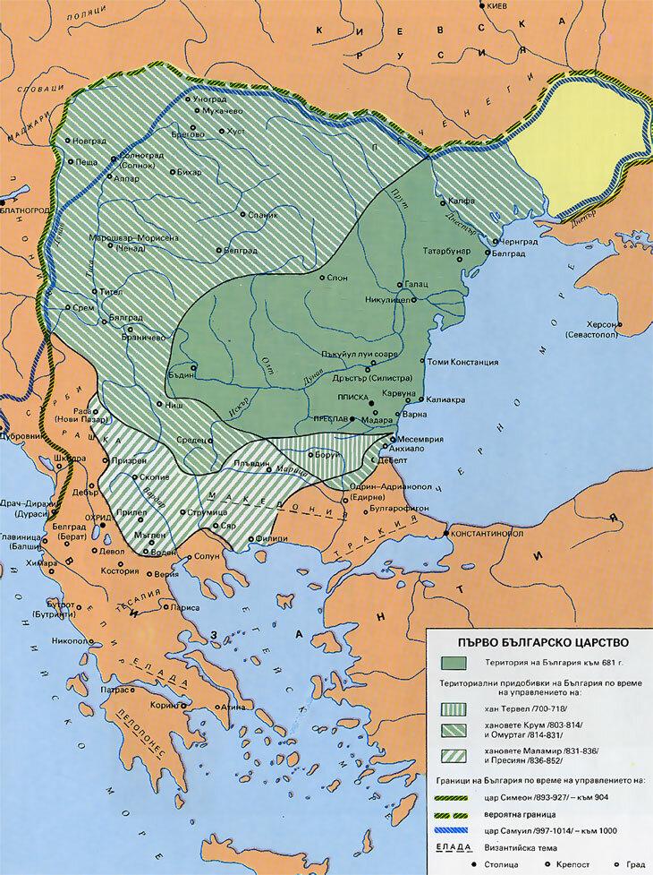 история болгарии кратко