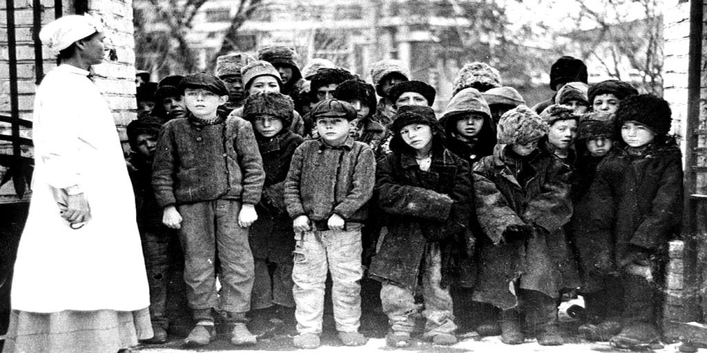 беспризорные дети в россии