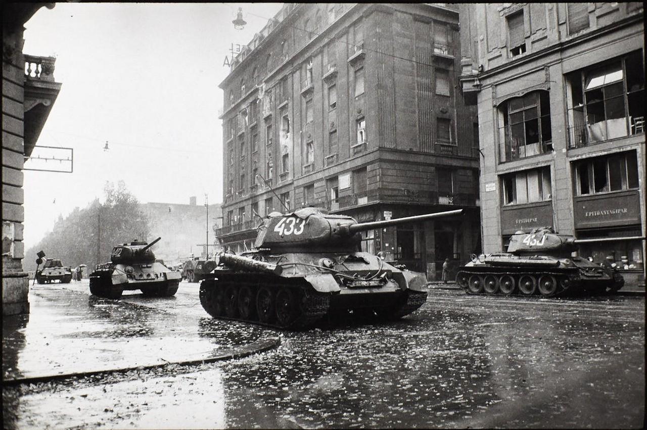 венгерское восстание 1956