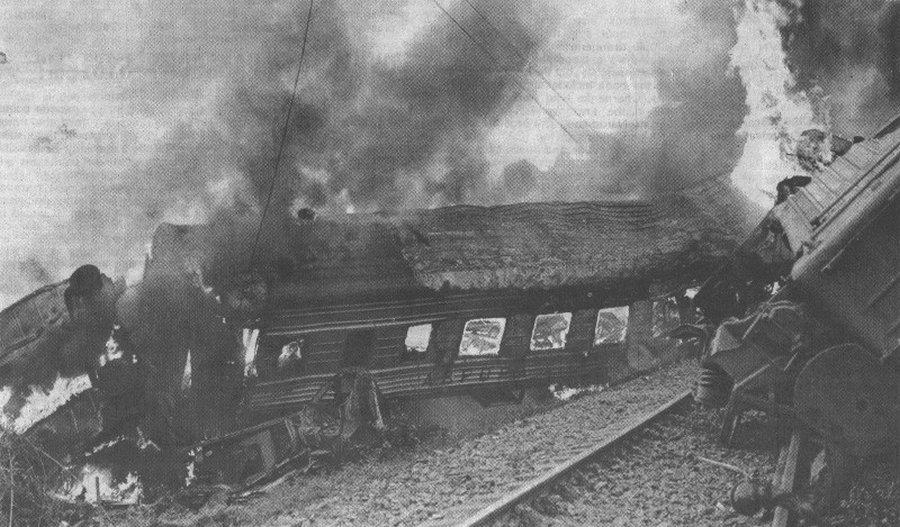 авария поездов