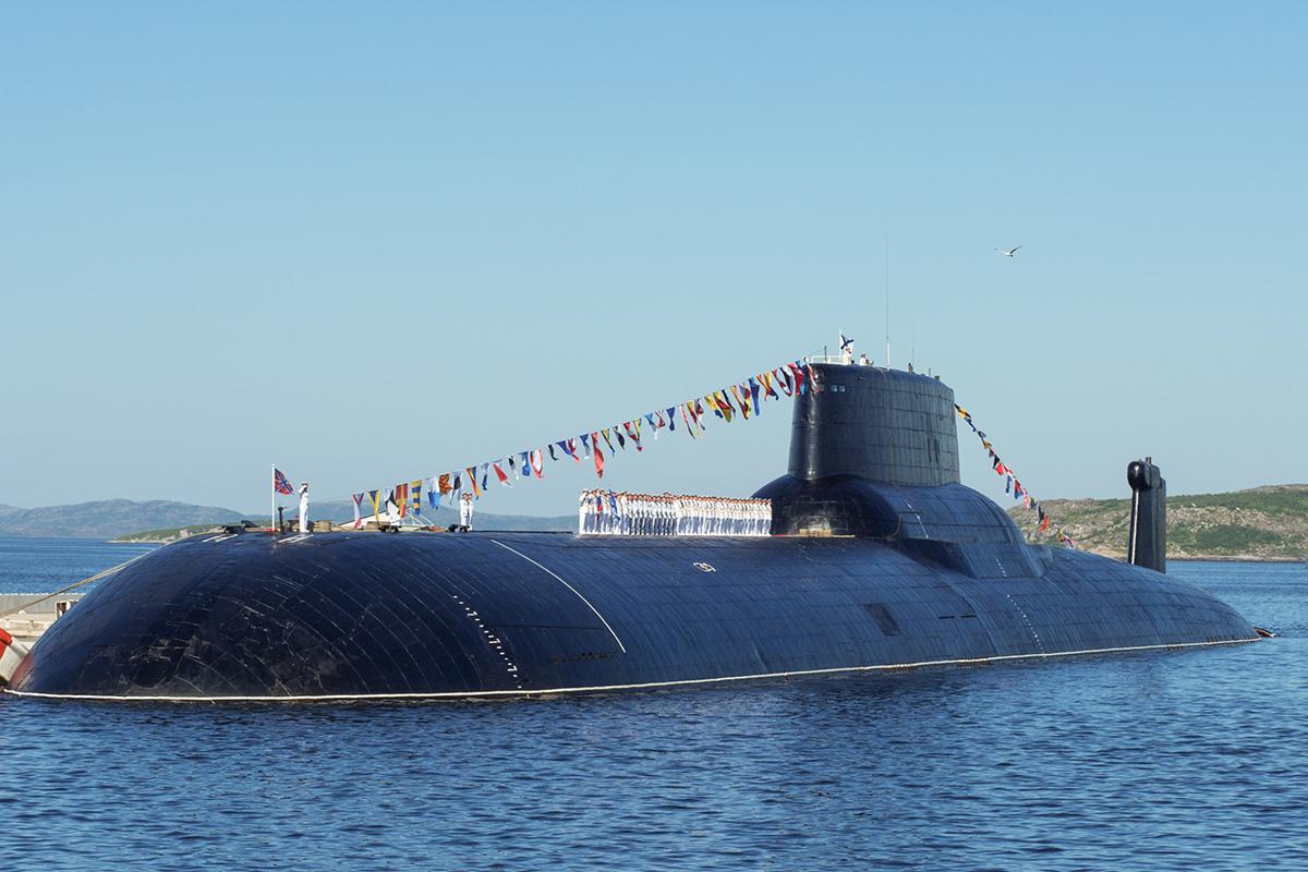 субмарины россии