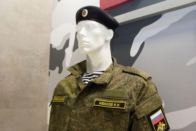 размещение знаков различия на военной форме