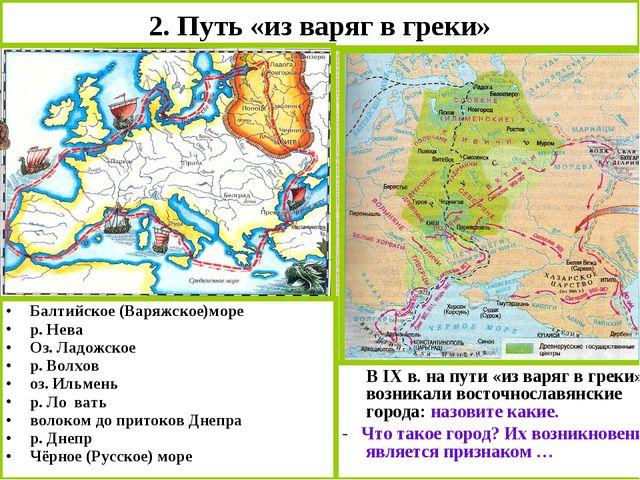 история возникновения руси