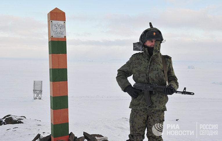 арктический трехлистник россии